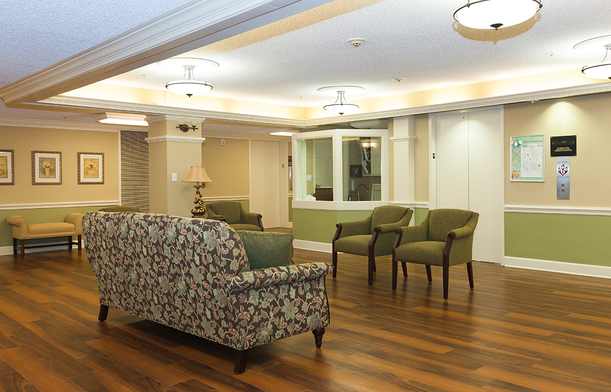Superior Assisted Living Lobby ...