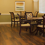 Assisted Living Dining Area